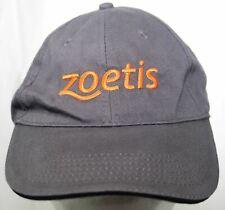 NWOT Zoetis Pet & Livestock Animal Health Care Medicine Hat North End Cap Gray