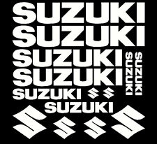 Suzuki replacement sticker set motorcycle tank fairings other makes available