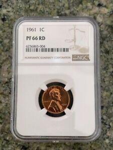 1961 1C LINCOLN MEMORIAL NGC PR66 RD
