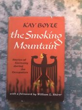 THE SMOKING MOUNTAIN Stories of Post-War Germany by Kay Boyle HC 1st Edition NEW