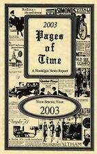 17th Birthday Pages of Time Book 2003
