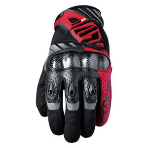 Five5 Gloves RS-C Motorcycle Glove Black/Red