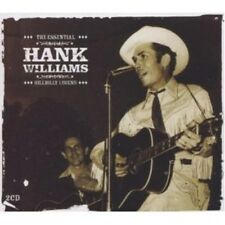HANK WILLIAMS - ESSENTIAL-HILLBILLY LEGEND 2 CD NEW!