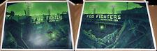 Foo Fighters 2018 Boston Ma Fenway Park Poster Print Set Daniel Danger Signed Ap