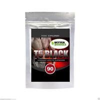 T5 T8 schwarz extra stark Fett Burning Tabletten Fett verbrenner