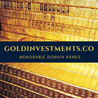 GoldInvestments.co Premium Domain Name To Sell Gold Online