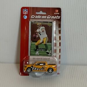 Upper Deck Gridiron Greats Brett Favre Green Bay Packers 1/64 Ford F-150
