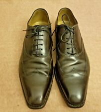 Stefanobi Men Leather Brown Lace Up Oxford Wingtip Dress Formal Shoes Size 11