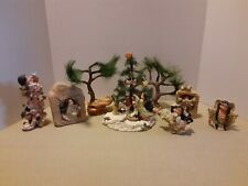 Friends Of The feather by Enesco Native American Figures Rare Christmas Tree