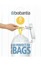 Brabantia Bin Liners Size A 3L  60 Bags