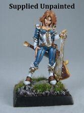 Astrid Female Chronicler Reaper Miniatures Dark Heaven Legends Lute Bard Caster