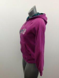 Volcom Hoodie Girls Size Large Purple Long Sleeve Hooded Full Zip Jacket