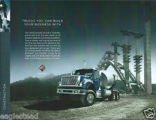 Truck Brochure - International - Construction - 2011  (T1643)