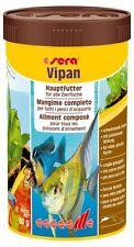 SERA VIPAN MANGIME IN SCAGLIE PER PESCI TROPICALI 1000 ml 210 g