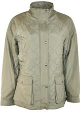 Polo Ralph Lauren Womens Anthem Coat Jacket quilted Leather patch XLarge TS14