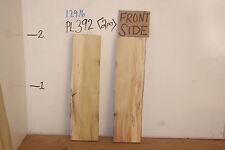 "2"" Poplar Live Edge Wood Slabs, wood craft & hobby lumber, PL-392"