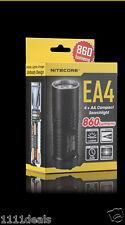 NiteCore EA4 PIONEER CREE XM-L U2 LED 860 Lumen Flashlight