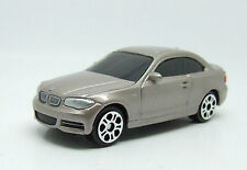 BMW 1 SERIES COUPE IN SILVER GOLD METALLIC MAISTO 1:60 MINT