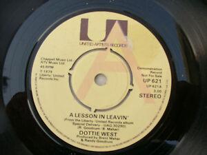 DOTTIE WEST A LESSON IN LEAVIN' uk demo / promo ua ' up 621