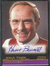 Complete Star Trek Movies Auto A9 Harve Bennett