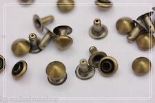 300pz borchie sfuse a cono COLOR BRONZO 6MM * 300pcs bronze CONE STUDS 6mm