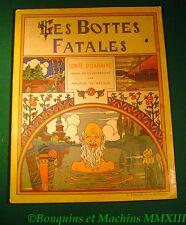 Maurice de Becque Les Bottes Fatales Conte d'Ukraine B Sirven éditeur à Toulouse