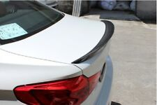 Carbon BMW G30 Trunk Deck Lip Spoiler P Type Sedan 5-Series 2017+