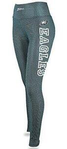 Zubaz Philadelphia Eagles Women's Size Small Mesh Print Leggings C1 1480