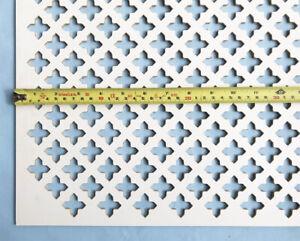 Radiator cover grille decorative screening panel Oregon Large cross design