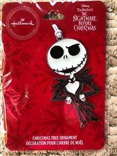 2019 Hallmark Enameled Metal Christmas Tree Ornament -Jack Skellington - New