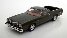 1979 Ford Ranchero Dark Green Metallic by BoS Models LE of 1000 1/18 Scale