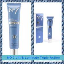 ♨️Boots No7 Lift & Luminate Triple Action Anti-Ageing Serum [30ml / 1oz] ♨️
