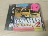 Test Drive Off-Road 2 PlayStation PS1