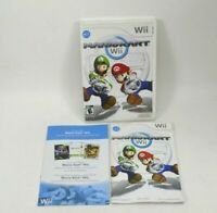 Mario Kart Nintendo Wii Replacement Case and Manual Only - NO GAME DISC
