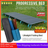 Ultralight Portable Folding Sleeping Bed Camping Hiking Tent Cot Mat Outdoor