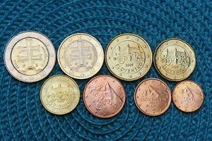 Série de 8 monnaies de Slovaquie année 2009 en euro