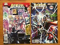 Avengers #683 1st Print + Ramos Mighty Thor Variant Marvel Legacy 2018 Near Mint