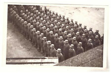 Foto AK Soldaten Appell bei Vereidigung Dessau Roßlau 1937 (110)