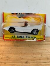 "Vintage Matchbox  Porsche Turbo ""the Penguin"" In Package 1980 Lesney England"