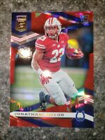2020 Panini Elite Rookie RED RC Jonathan Taylor Foil Indianapolis Colts SP /399