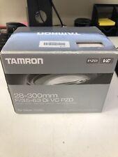 Tamron 28-300mm f3.5-6.3 Di VC PZD Lens for Nikon New Open Box FREE SHIPPING!!!!