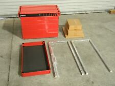 "Sunex Professional Service Cart Tool Box 5-Drawer 27"" x 18"" x 40"" Steel Red 8045"