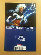 "EXTRAORDINARY X-MEN #9 SIYA OUM ""CIVIL WAR"" VARIANT COVER NM- 1ST PRINTING 2016"