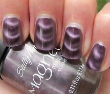 Sally Hansen Magnetic Nail Polish Color Silver Copper Metal Indigo Purple Golden