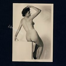 #343 RÖSSLER AKTFOTO / NUDE WOMAN STUDY * Vintage 1950s Studio Photo - no PC !