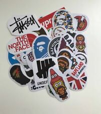 36 Pieces Random Sports Fashion Brands Skateboard Laptop Car Luggage Stickers