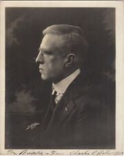 RARE Autographed Photograph of Broadway Actor Charles P. Bates dated Nov 3, 1919