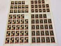 RUSSIA USSR 1983 - 4 Sheets MINT/NH - ART - Rembrandt Paintings - SC 5129 - 5132