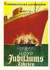 SHIPPING LINE AMERICAN PHOTOGLOB  ZURICH  ADVERTISING  POSTCARD