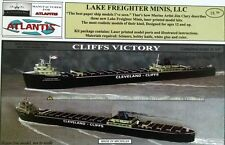 Cliffs Victory Great Lakes Freighter Boat Paper Model Atlantis Toy & Hobby
